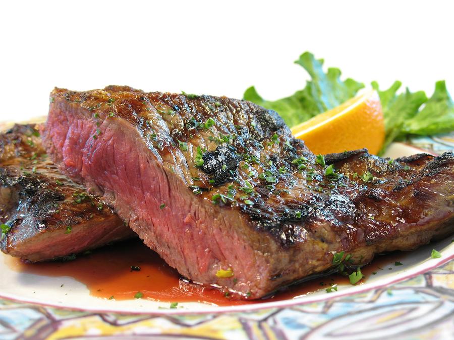 Bourbon Buffalo Steak